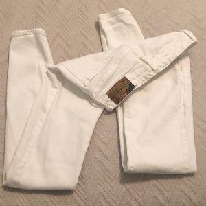 Ralph Lauren white jeans